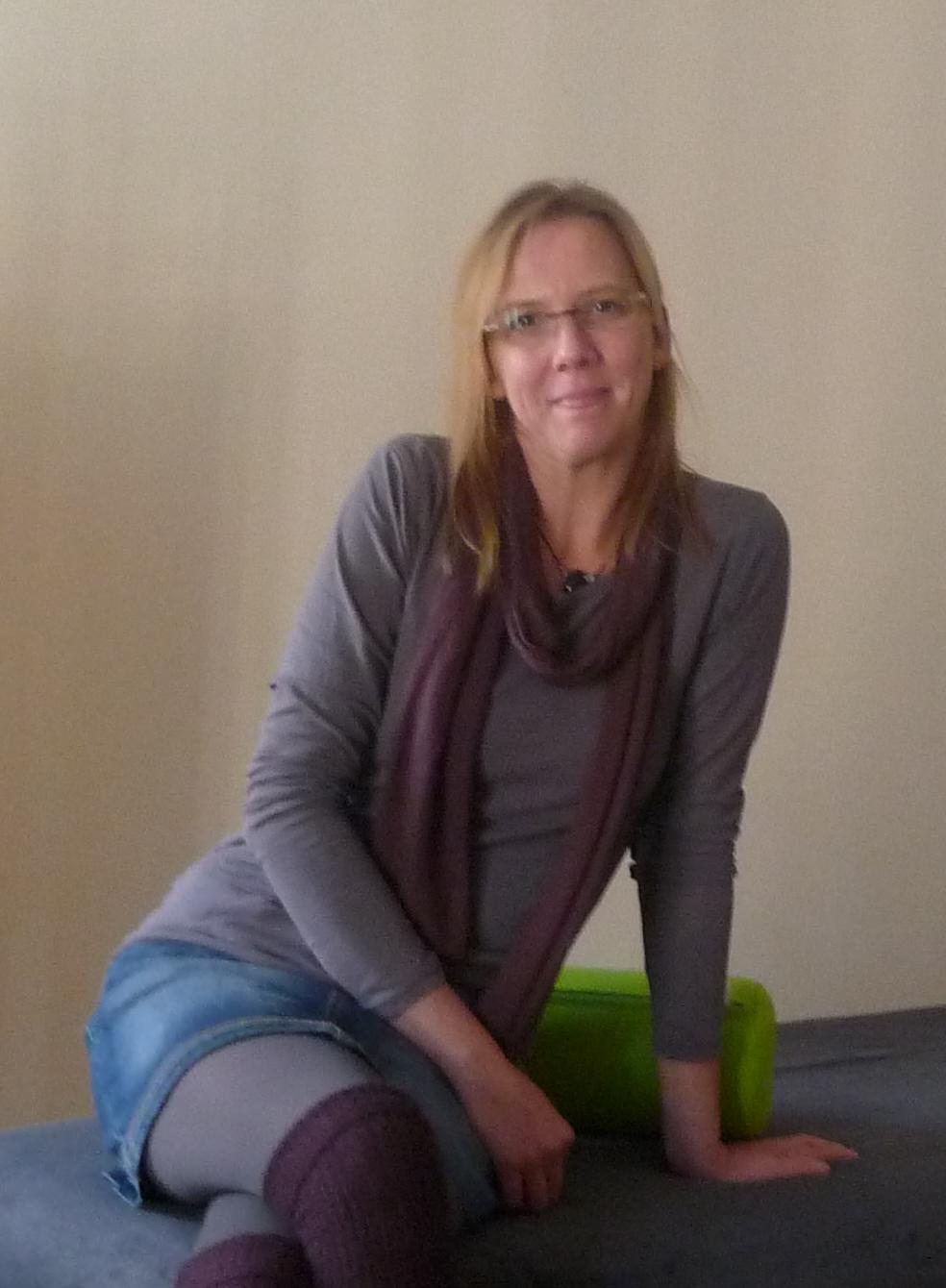 Ernährungsberaterin Melanie Steffen im Heilkundezentrum Midgard in Bremen