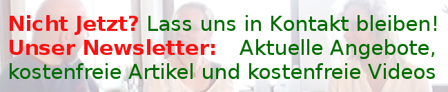 Hallux Valgus Online Video Kurs: Newsletter